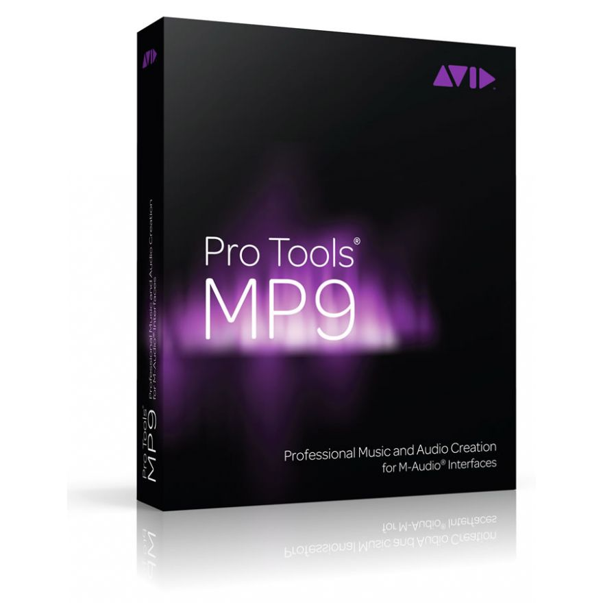 AVID Pro Tools M-Powered 9 - SOFTWARE PER PRODUZIONI MUSICALI