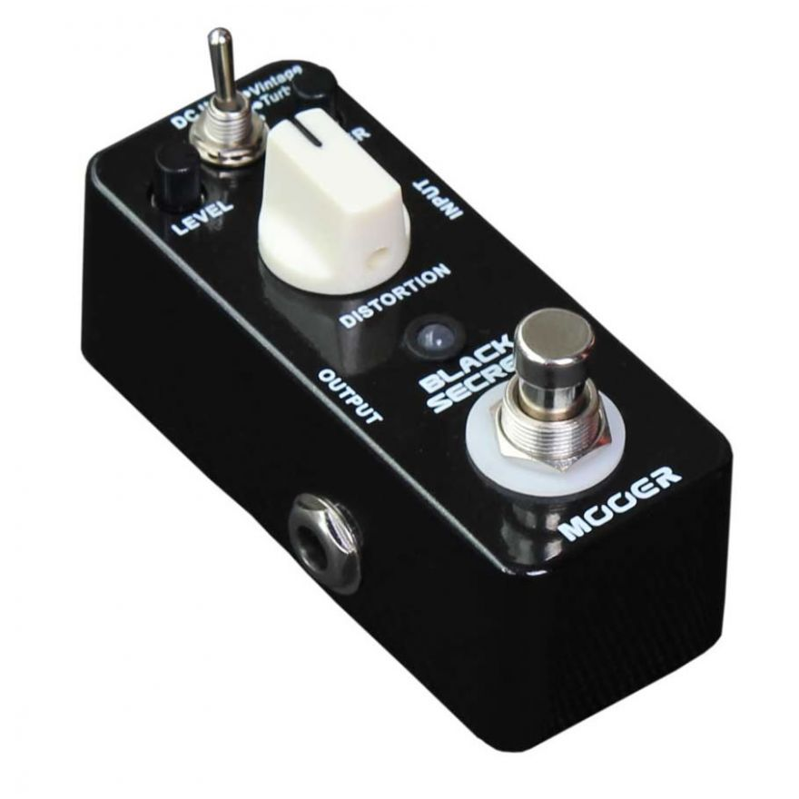 MOOER BLACK SECRET - DISTORSORE PER CHITARRA