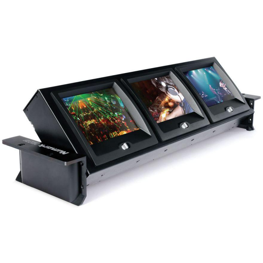 NUMARK VM03 - SISTEMA DI MONITORAGGIO VIDEO A 3 SCHERMI LCD