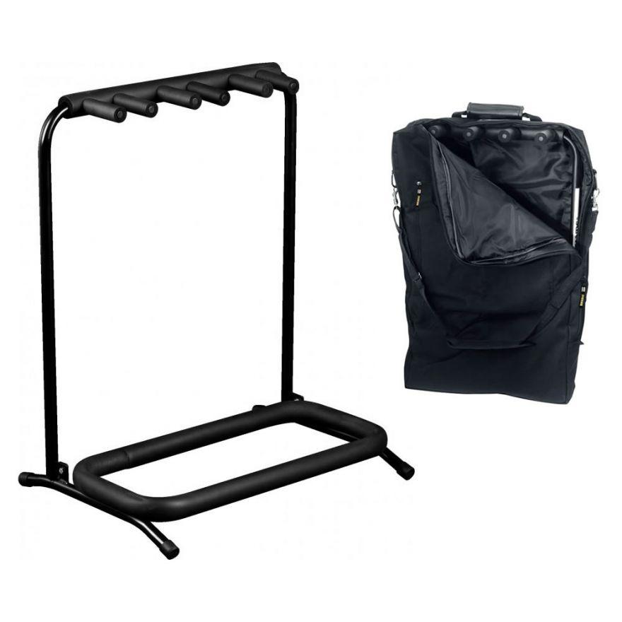 ROCKSTAND RS20870B/B/2 Stand multiplo per 3 strumenti con borsa