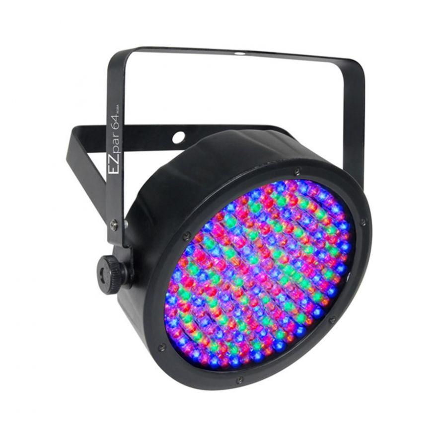 CHAUVET DJ EZPAR 64 RGBA BLACK - PAR A LED