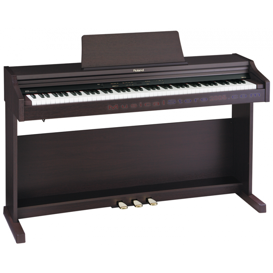 ROLAND RP201RW - PIANOFORTE DIGITALE 88 TASTI PALISSANDRO