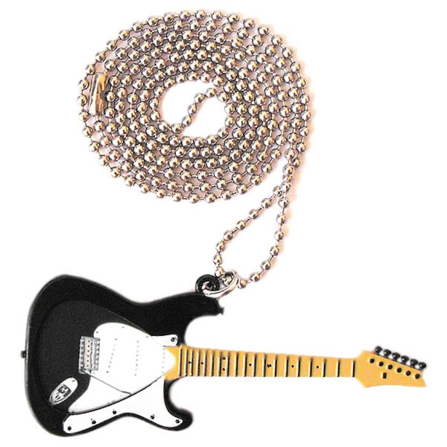 PICKLACE BLACK STRAT NECKLACE - COLLANA PORTA PLETTRO