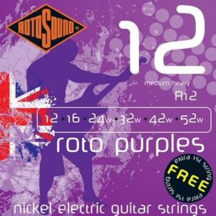 ROTOSOUND R-12 - Cordiera per chitarra elettrica (012-052)