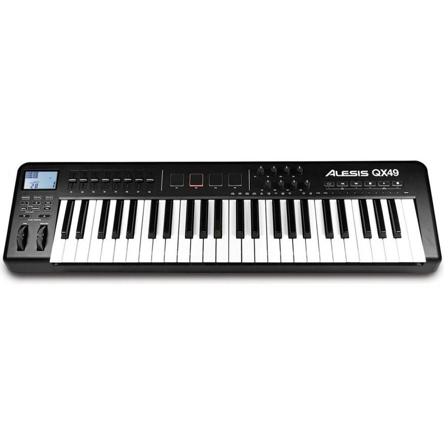 ALESIS QX49 - TASTIERA CONTROLLER MIDI USB 49 TASTI