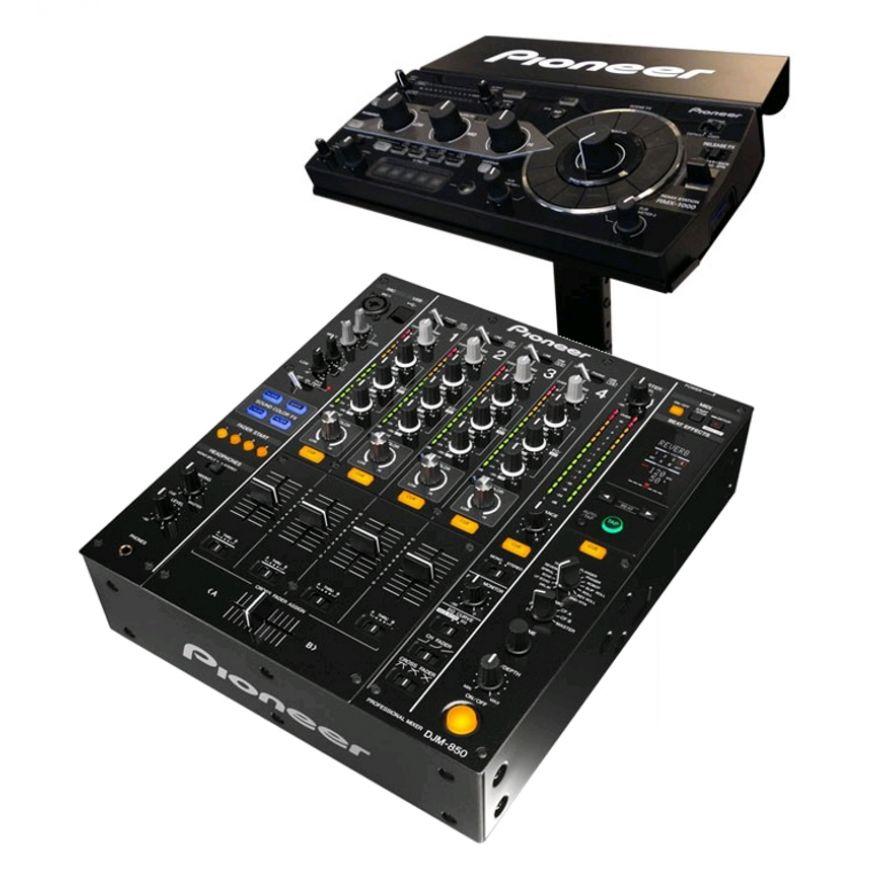 PIONEER DJM850 RMX PACK-K Black - DJM850K + RMX1000 + PRODJ RMX STAND