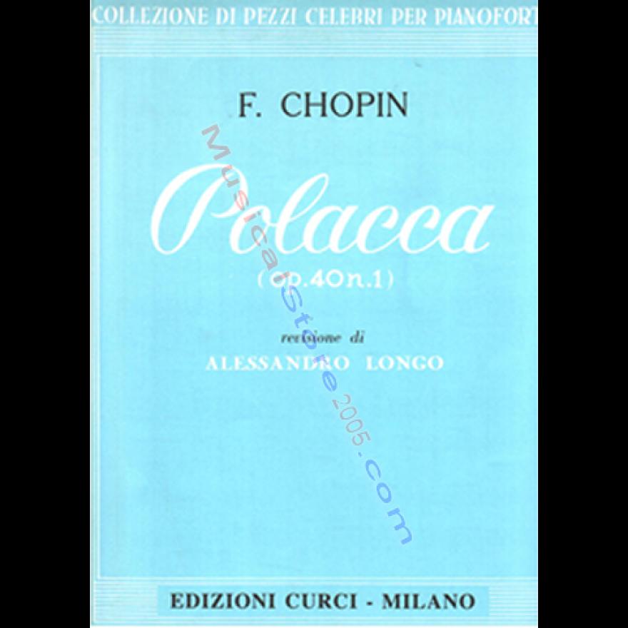 CURCI Chopin, F. - Polacca in La magg. op. 40, n. 1