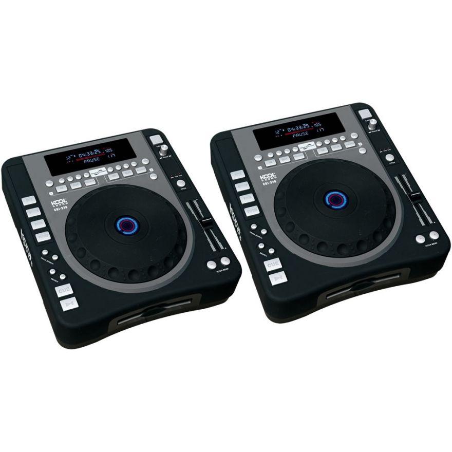 KOOL SOUND (coppia) CDJ 320 - Lettori CD per DJ