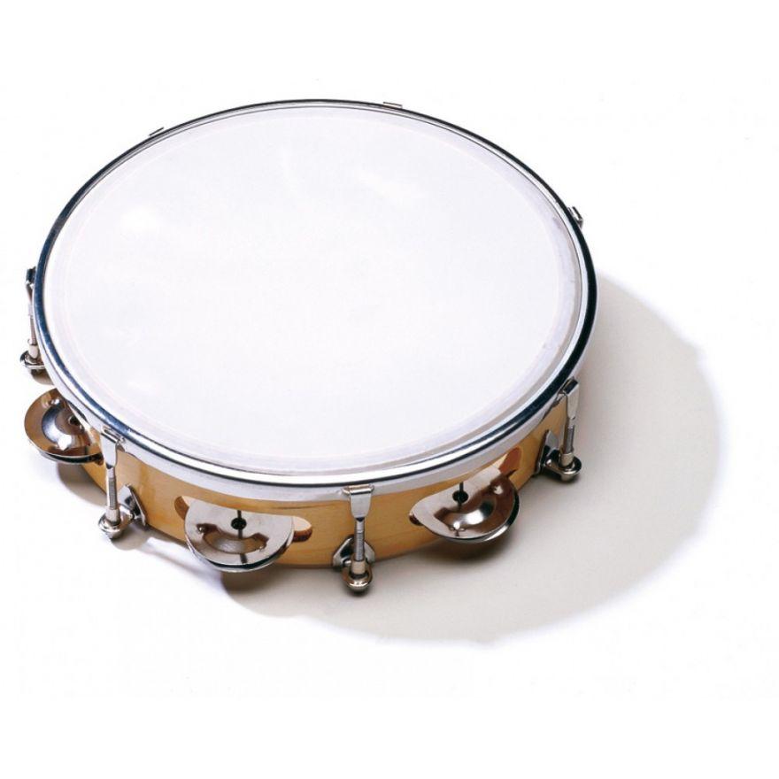 Sonor CG TT 10 P Tambourine, 25 cm dia., intonabile, 8 jingles,p