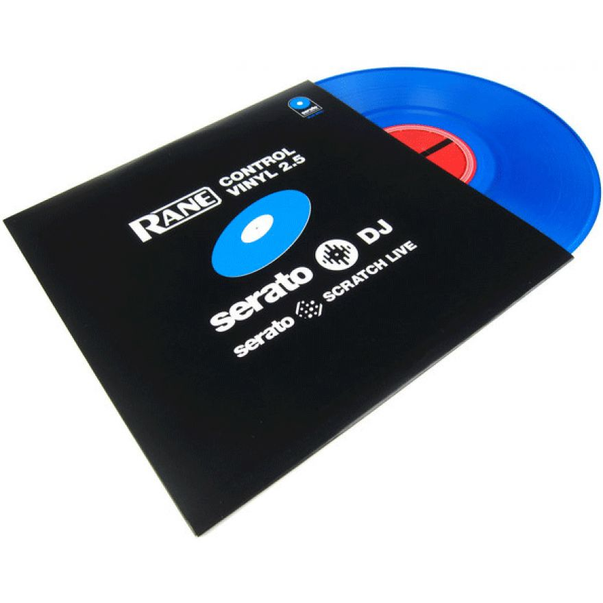 RANE SERATO VINYL BLUE 2.5 - VINILE PER SERATO SCRATCH LIVE ...