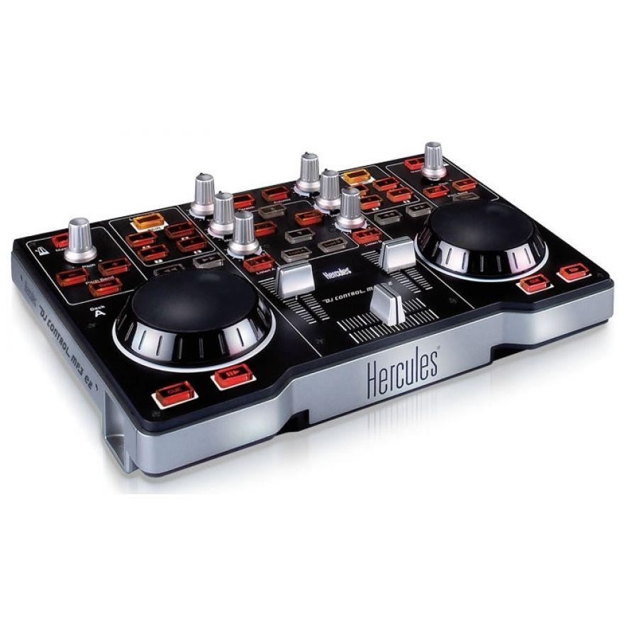 HERCULES DJ Control MP3 e2 - CONTROLLER MIDI PER DJ