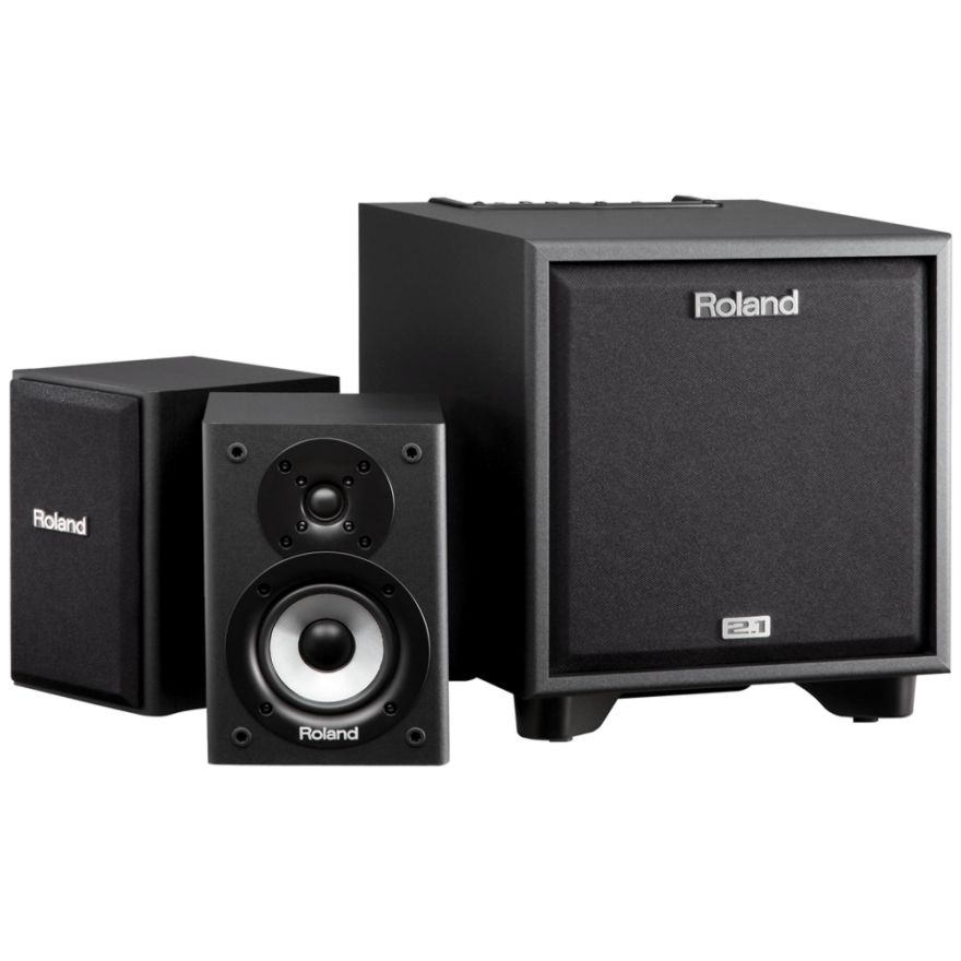 ROLAND CM110 CUBE Monitor - (Coppia) Speaker 25W + Subwoofer 50W