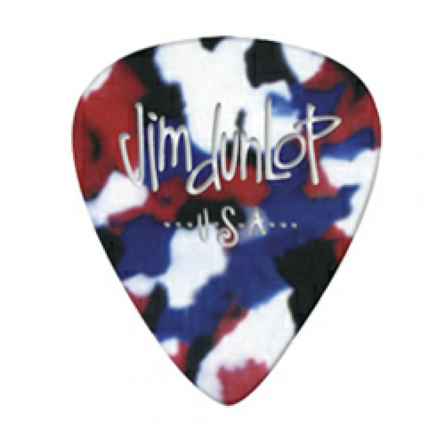 DUNLOP 483P#06 - 12 PLETTRI SPECIALTY 'GENUINE CELLULOID' MEDIUM