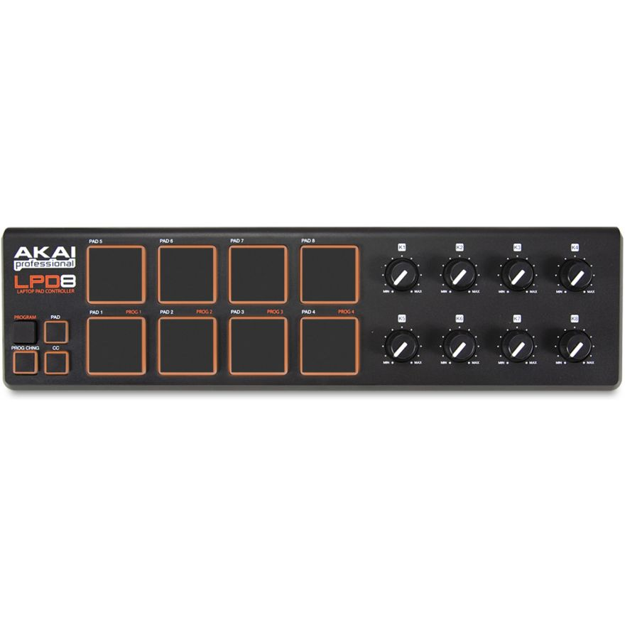0-AKAI LPD8 - USB CONTROLLE
