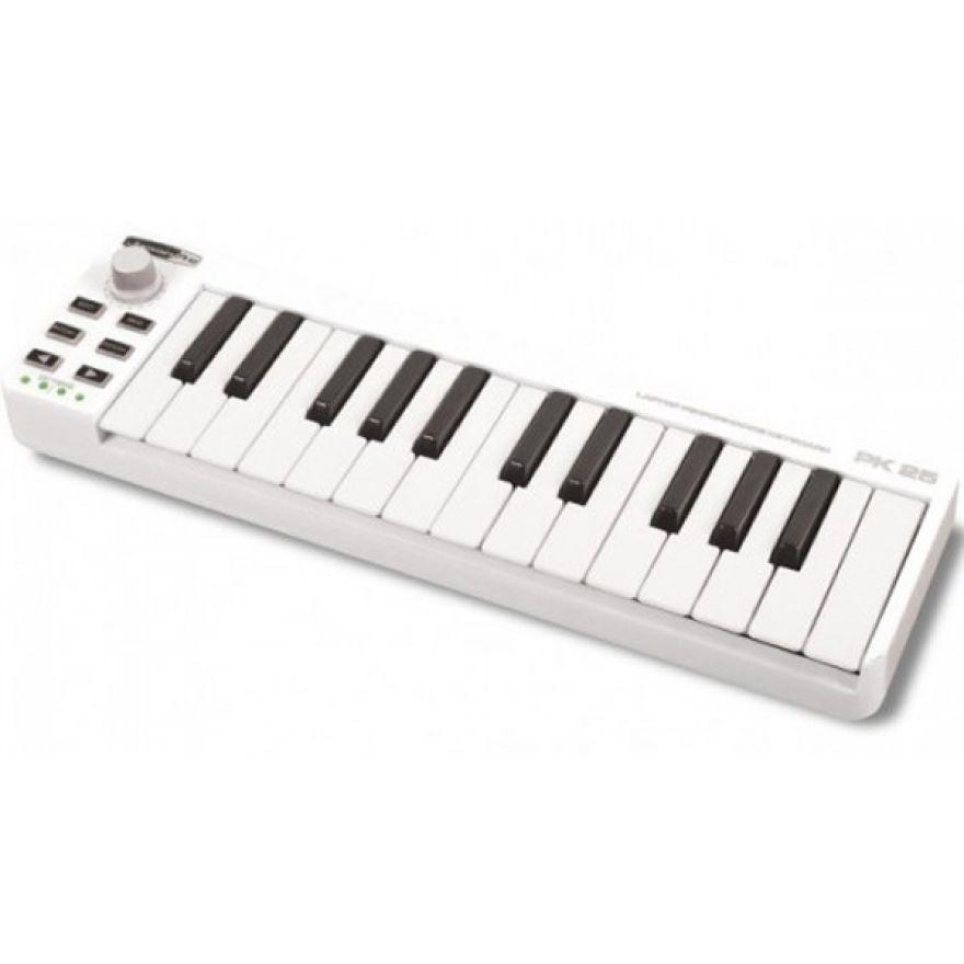 JAMMIN PRO PK25 - MINI CONTROLLER USB-MIDI 25 TASTI