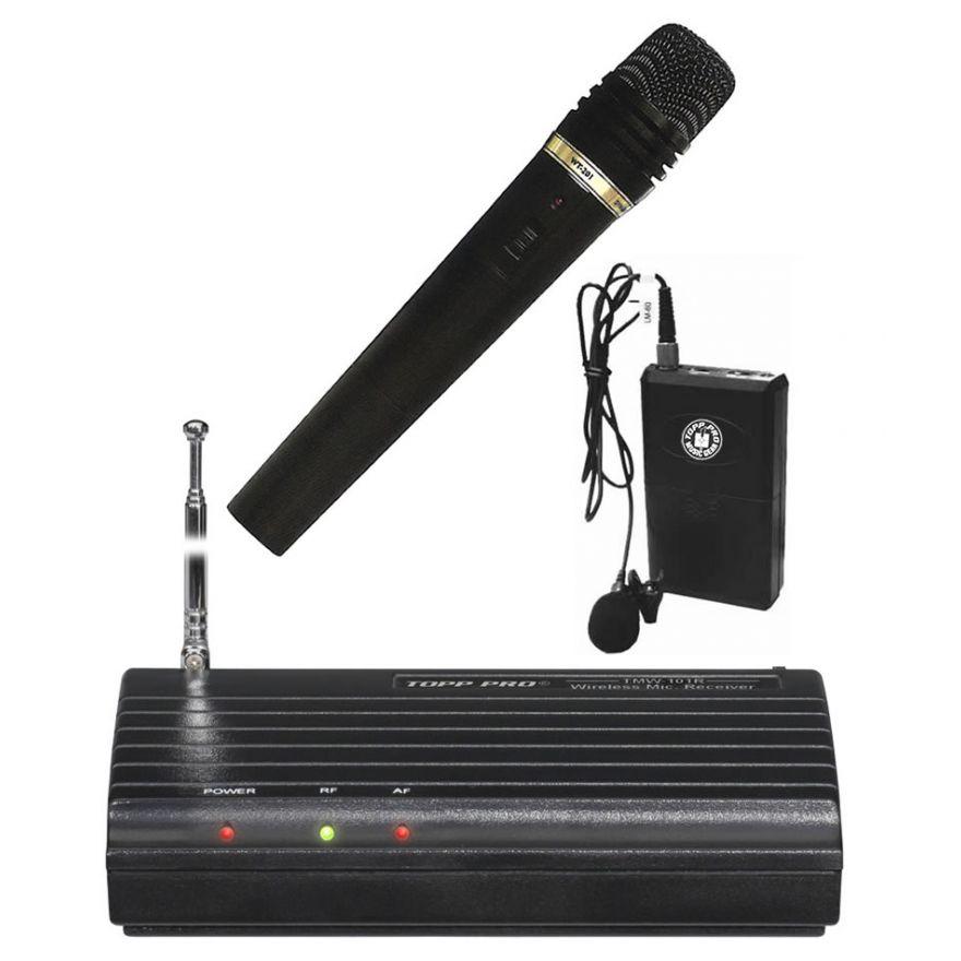 Topp Pro TMW 101R KIT - Doppio Radiomicrofono (Ultimo pezzo)