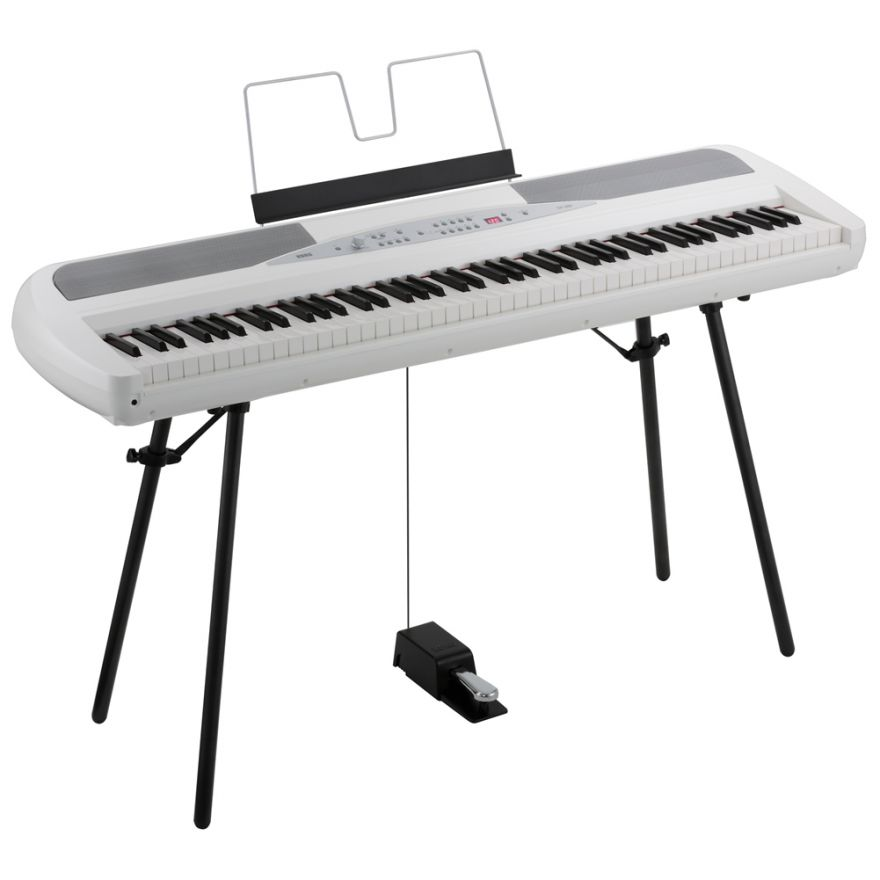 0-KORG SP280WH PIANO STAGE