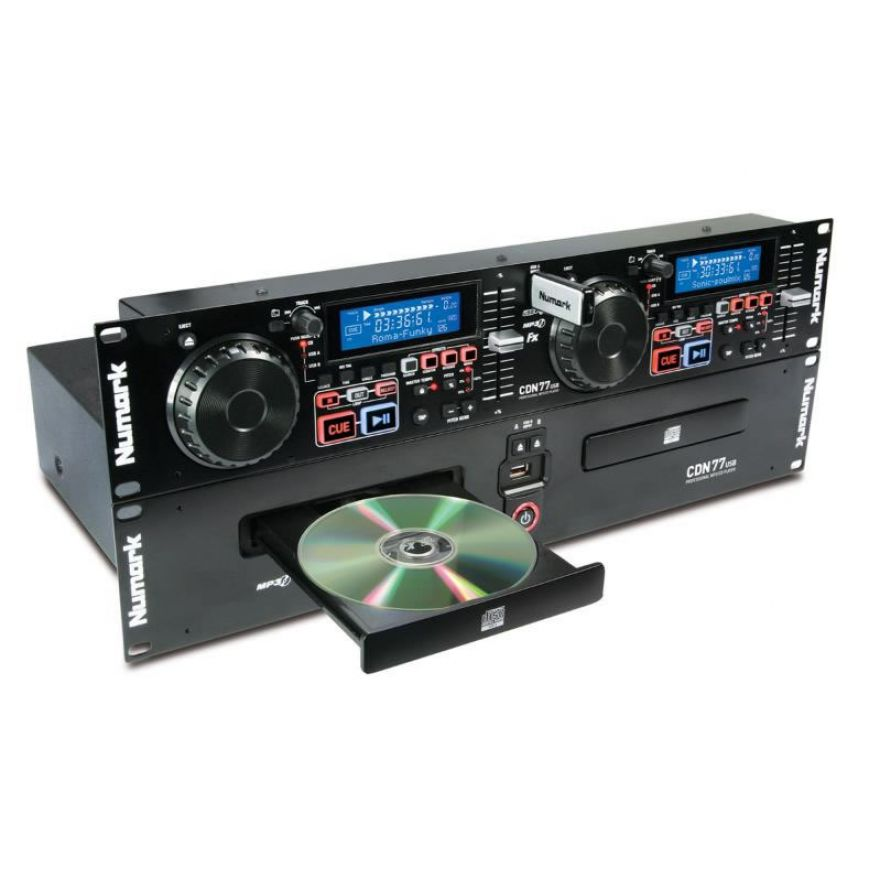 0-Numark CDN77USB CD PLAYER