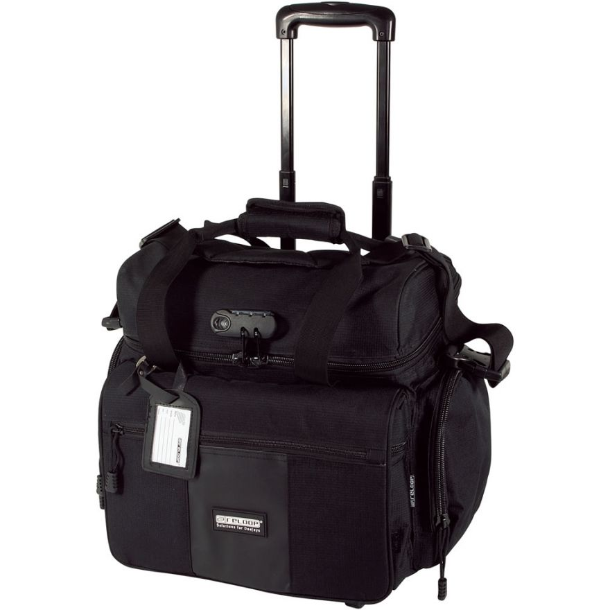 RELOOP MEDIA TROLLEY SUPERIOR BLACK - TROLLEY PER 80 VINILI