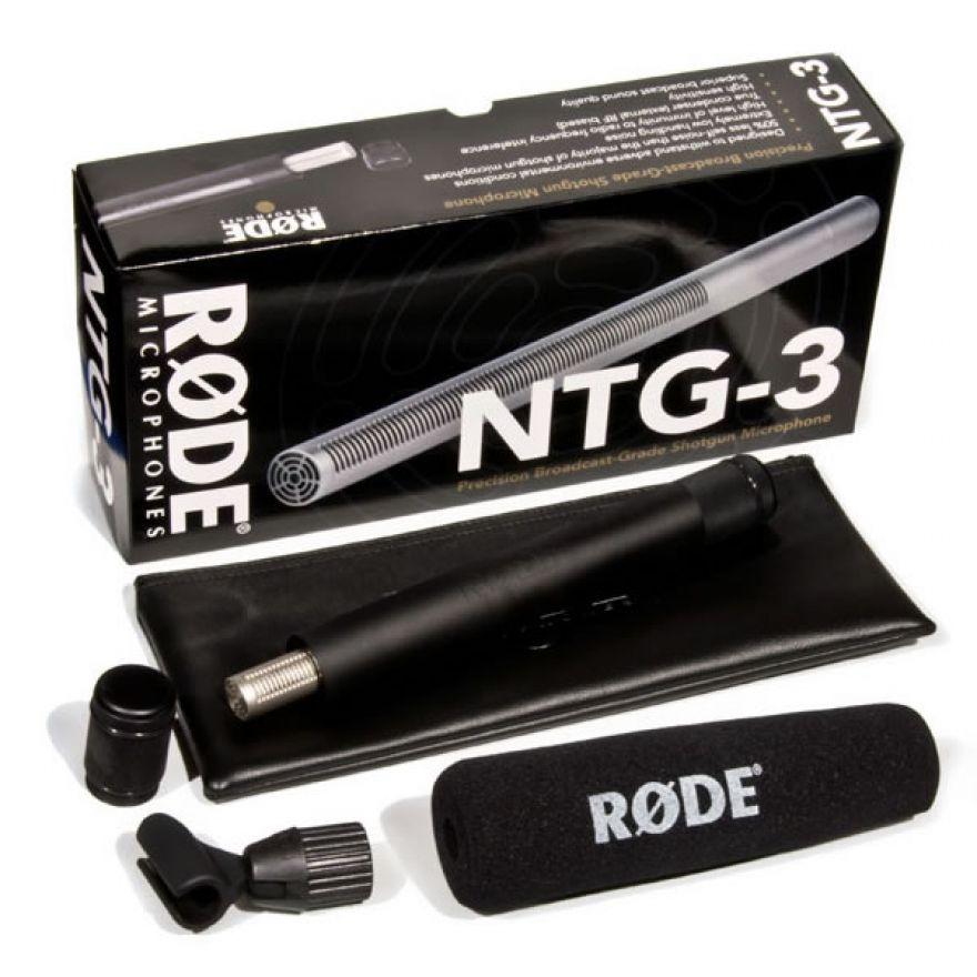 0-RODE NTG3 - MICROFONO 'FU