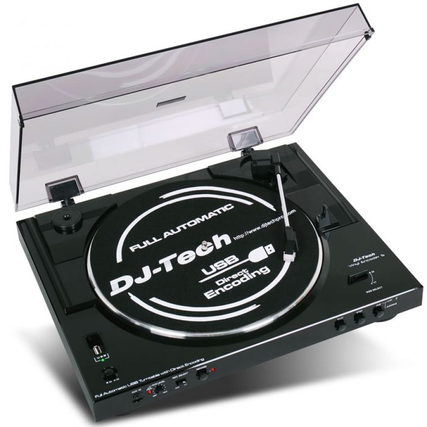 DJ TECH VINYL ENCODER 5 - CONVERTITORE DA VINILI A MP3