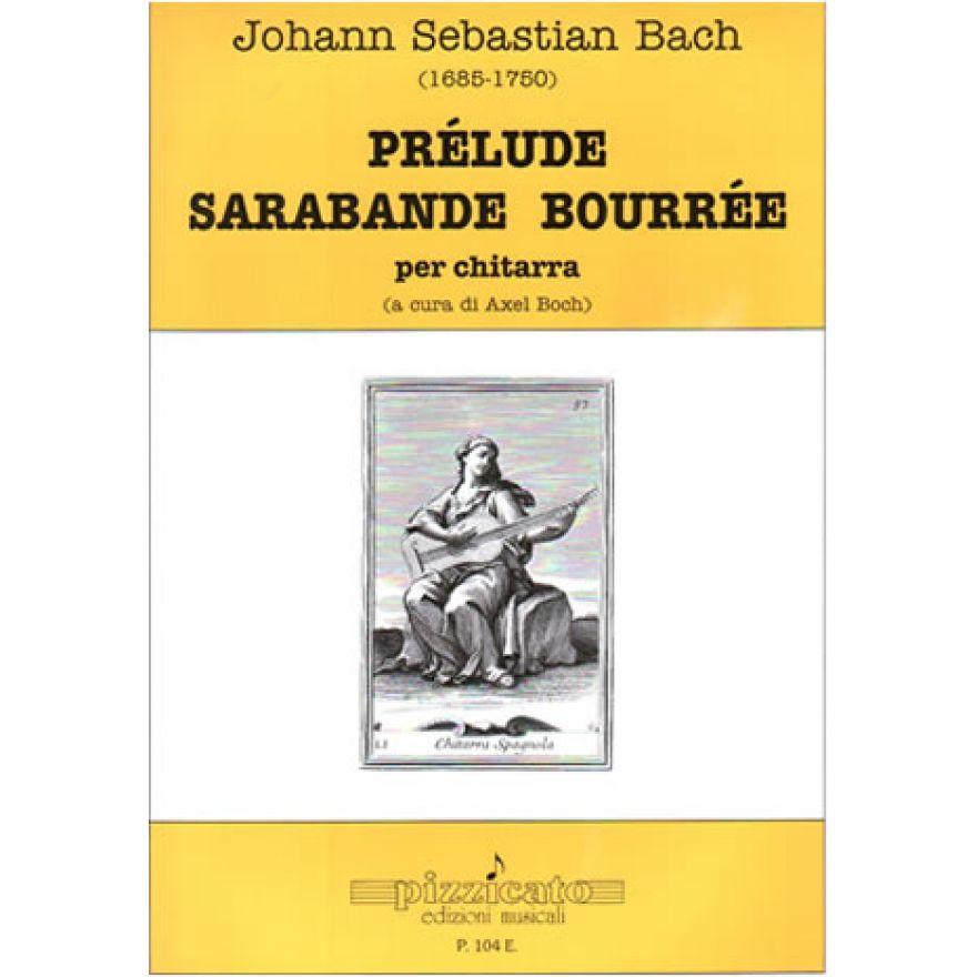 PIZZICATO Bach, J. S. - PRÉLUDE SARABANDE BOURRÉE