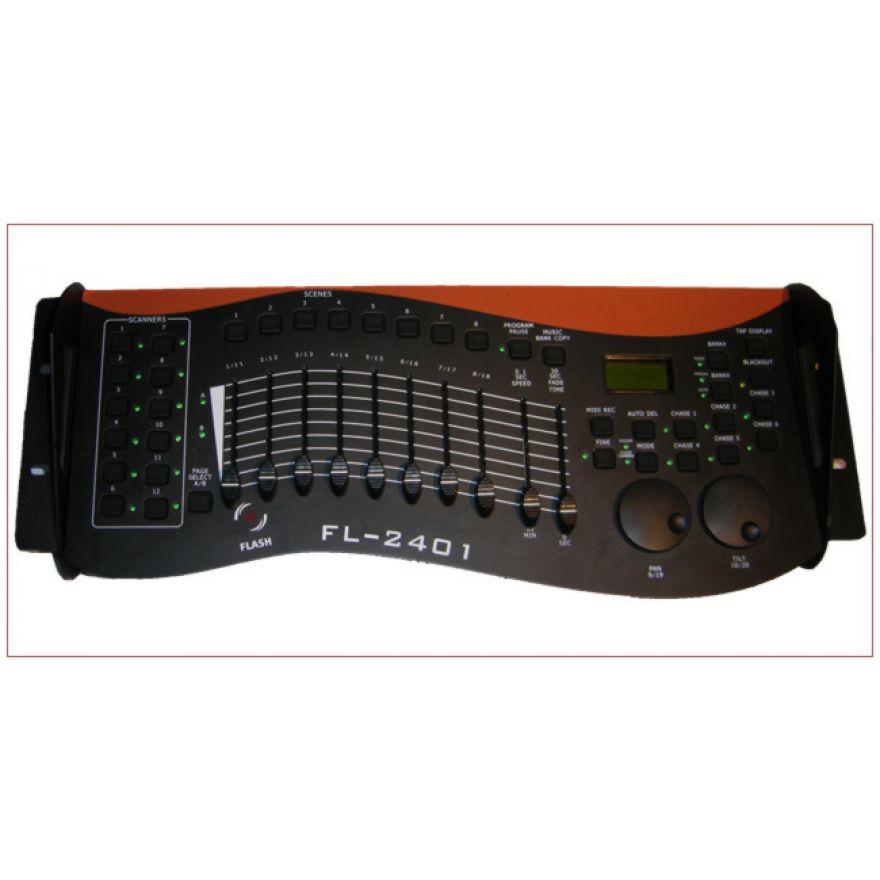 FLASH DMX CONTROLLER FL-2401 240CH - CONTROLLER DMX 240 CANALI