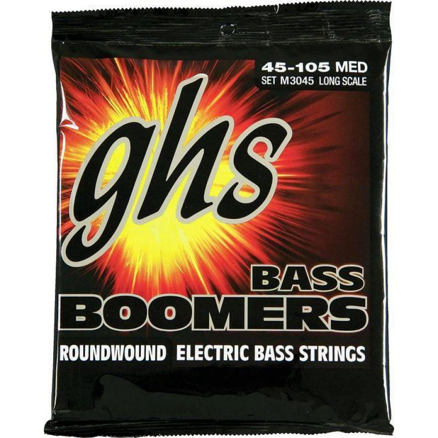 GHS SET M3045 MEDIUM - BASS BOOMERS (45-105)