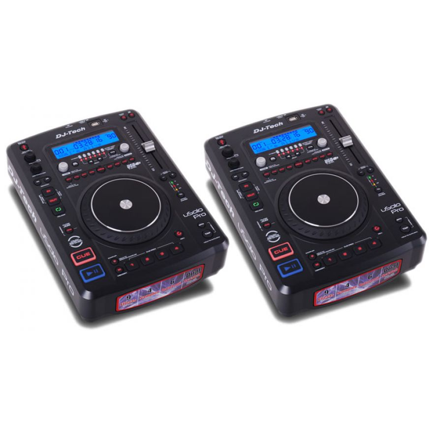 DJ TECH (coppia) USOLO PRO - Media player USB/MP3