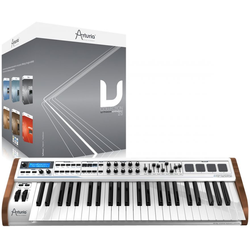 ARTURIA ANALOG EXPERIENCE 49 THE LABORATORY + V COLLECTION 2.0