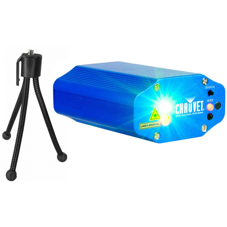 CHAUVET MIN LASER FX - Mini LASER FIREFLY 2 COLORI 6 EFFETTI