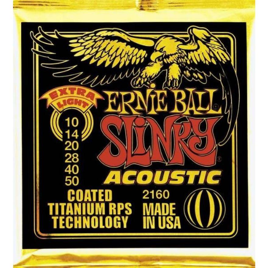 Ernie Ball 2160 Extra Light Slinky - MUTA PER ACUSTICA 10/50