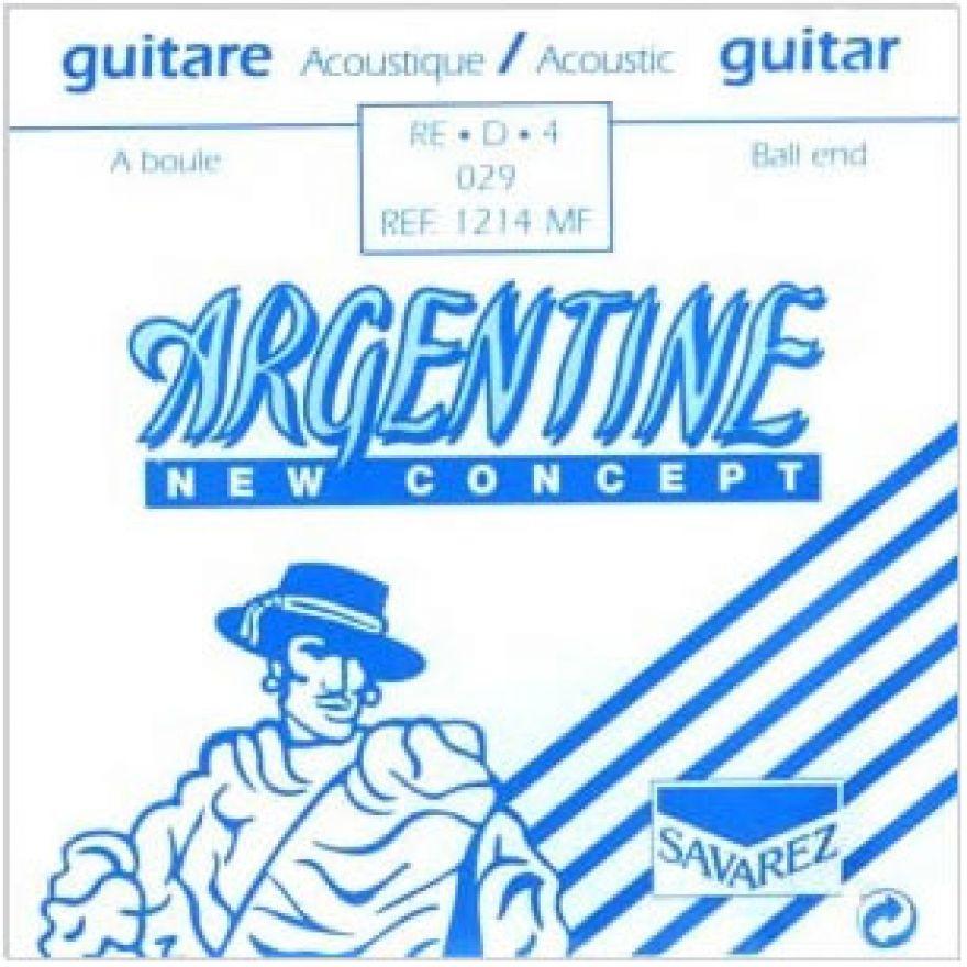 SAVAREZ ARGENTINE 1214MF 029 RE-D-4 - CORDA SINGOLA PER CHITARRA