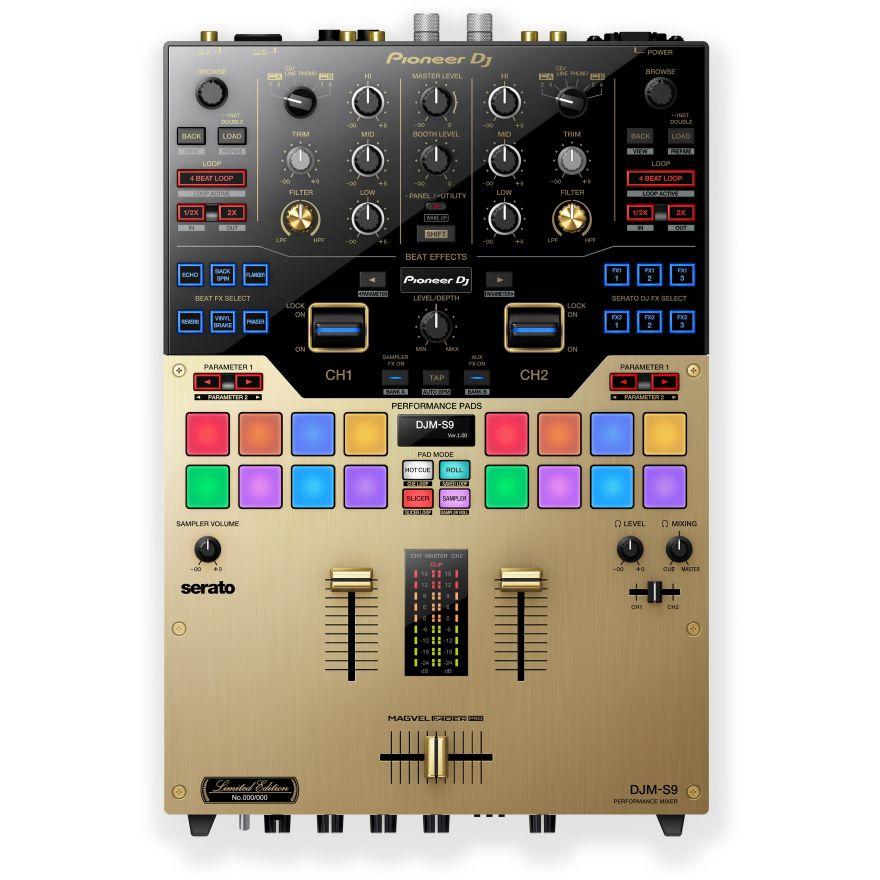 0-PIONEER DJM-S9-N Gold - L