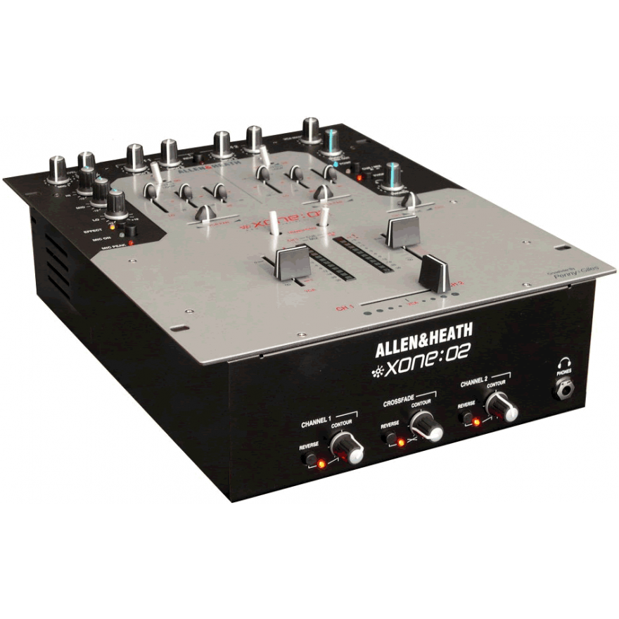 ALLEN & HEATH XONE 02 - MIXER PROFESSIONALE PER DJ