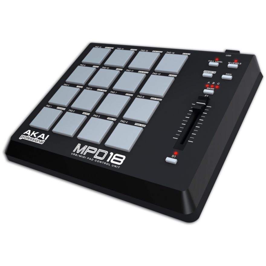 AKAI MPD18 - MIDI CONTROLLER USB