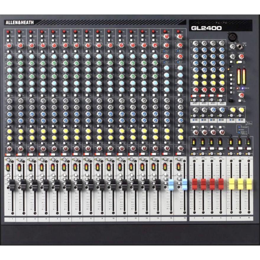 ALLEN & HEATH GL-2400-416 - MIXER PROFESSIONALE 16 CANALI