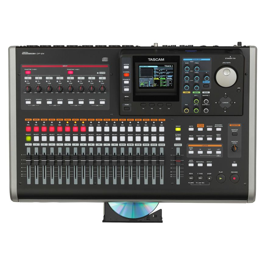 TASCAM DP24 - REGISTRATORE DIGITALE MULTITRACCIA