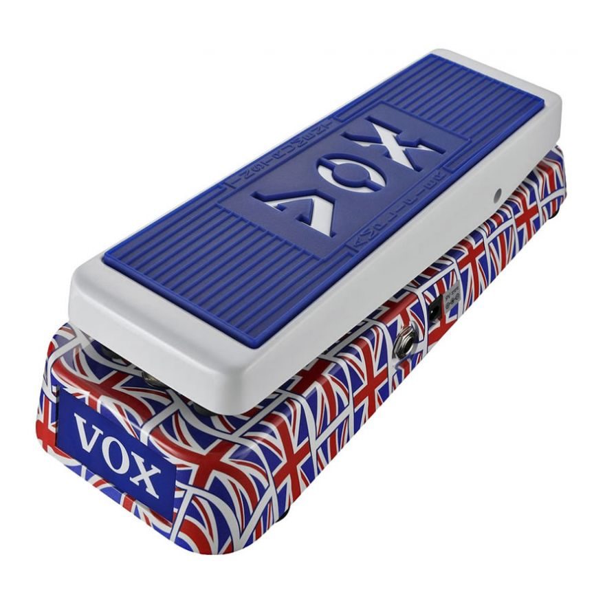 VOX V847 Union Jack - PEDALE WAH WAH PER CHITARRA