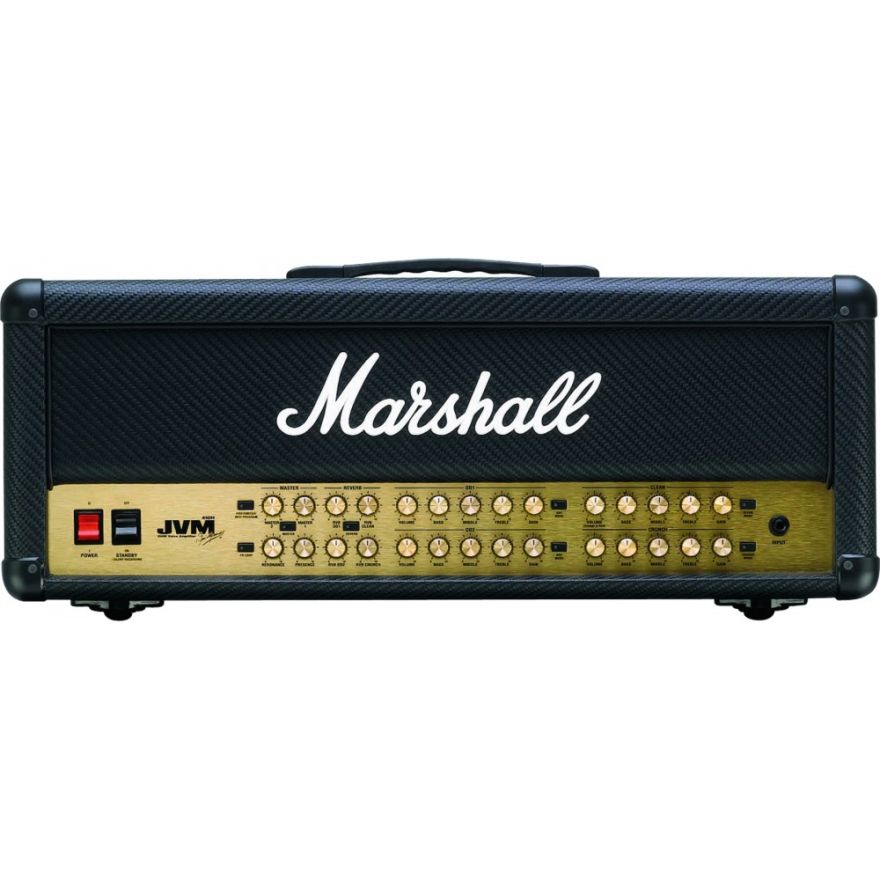 MARSHALL JVM410HCF DAVE MUSTAINE 100 Watt Head 4-Channel Carbon