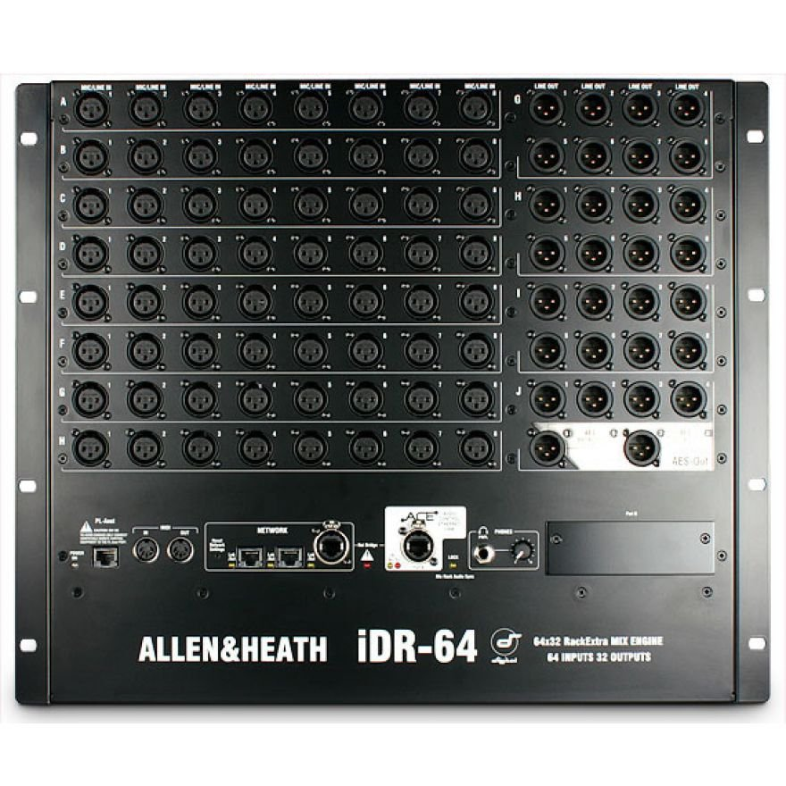 ALLEN & HEATH STAGEBOX iDR-64 - STAGEBOX 64 IN 32 OUT