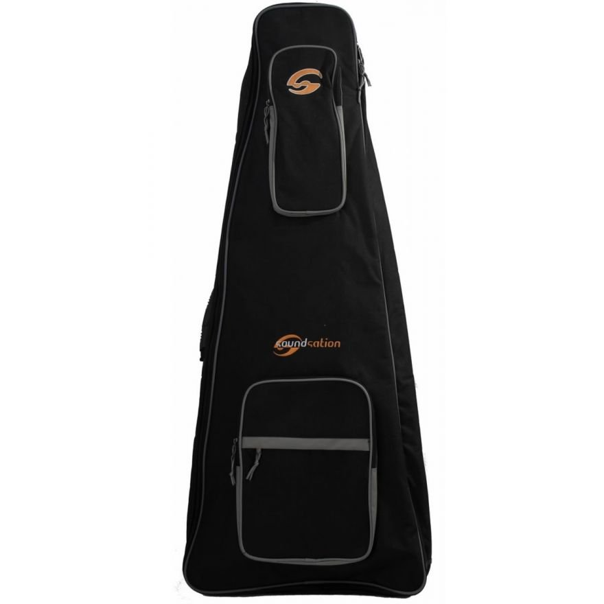 SOUNDSATION SBG-20FLY - Borsa per chitarra elettrica Flyng-V