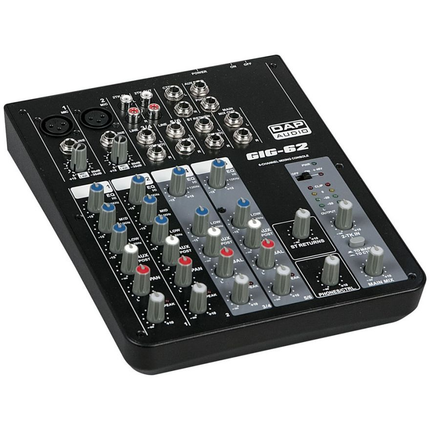 0-DAP AUDIO GIG-62 - MIXER