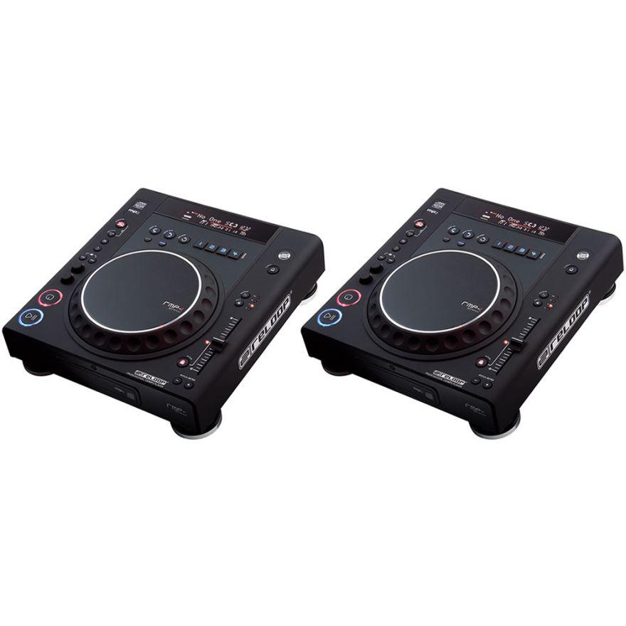 RELOOP (coppia) RMP1 MK2 BLACK - Lettori CD per DJ con MP3