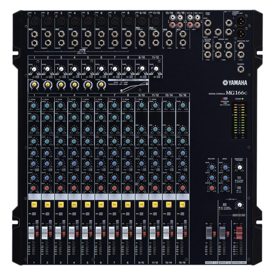 YAMAHA MG166C - Mixer Passivo 16 Canali
