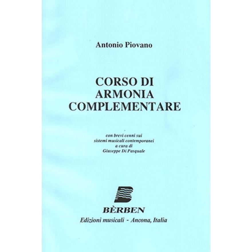 BÉRBEN Piovano Antonio - CORSO DI ARMONIA COMPLEMENTARE