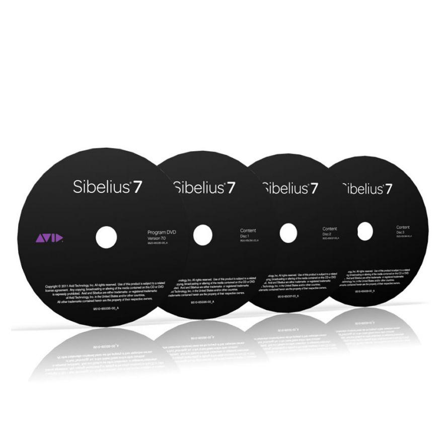 AVID SIBELIUS Sibelius 7 Multilicenza Media Pack