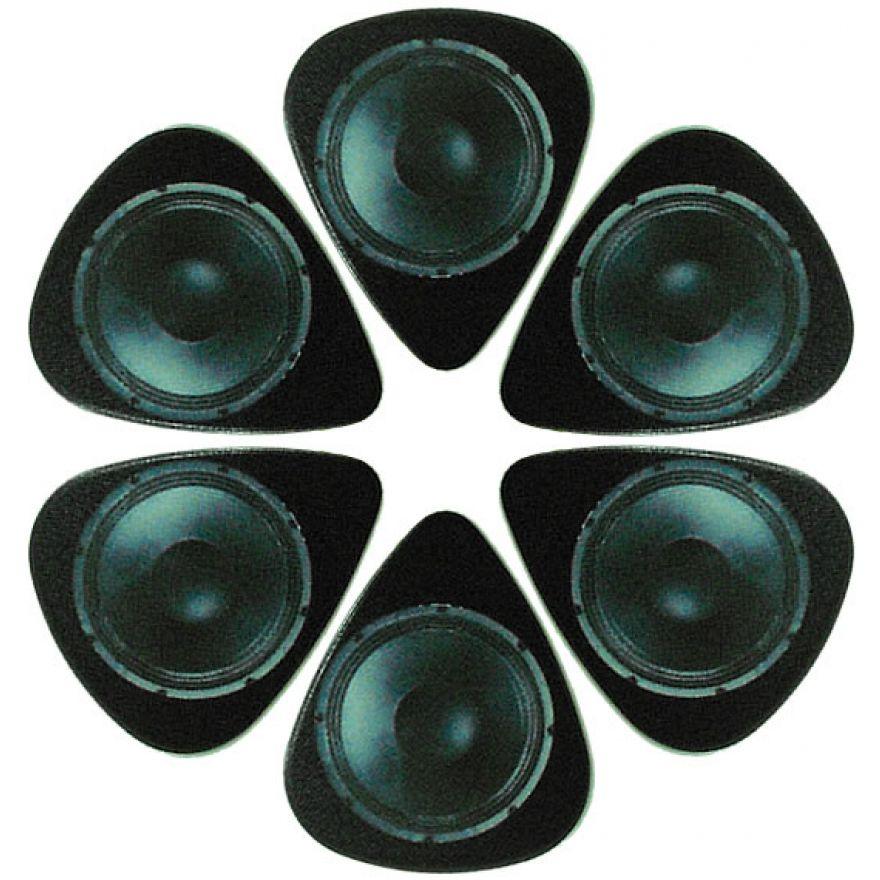 PICKLACE AMP SPEAKER PICKS - 6 PLETTRI MEDIUM