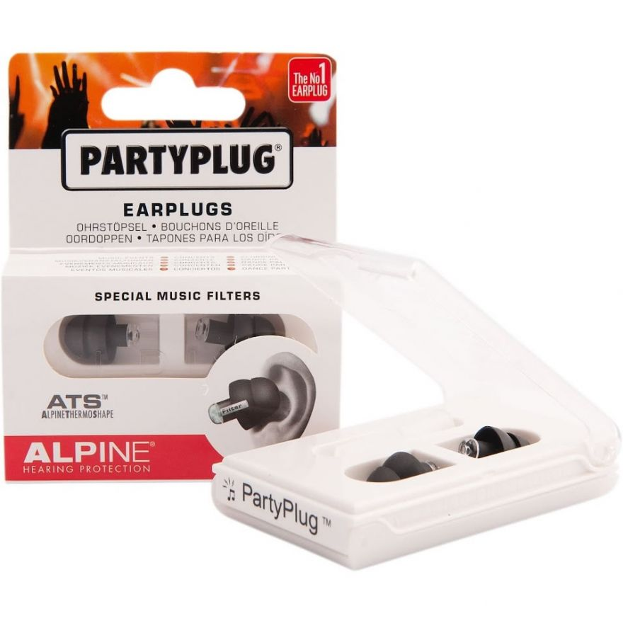 0-ALPINE PartyPlug Black