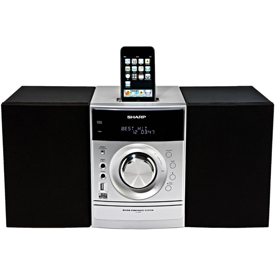 SHARP XL-DH320NH - SISTEMA MICRO HI FI COMPATIBILE CON iPOD